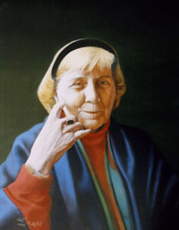 Portrait of Peggy Jordan