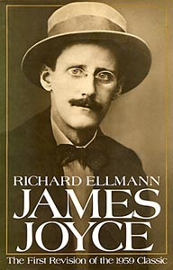 Cover of Richard Ellman's James Joyce
