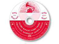 CD disc label