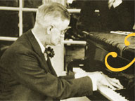 James Joyce at the Piano in Paris, 1939