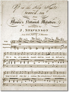 Oft in the Stilly Night Sheet Music